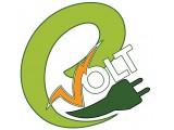 """Логотип Е-ВОЛЬТ """"e-Volt"""""""