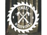 Логотип Timbel Woodworks, ЧП