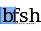 Логотип BFSH Transportas (Балтик Форвардинг энд Шиппинг)
