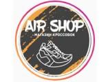 Логотип AIR SHOP Магазин кроссовок