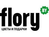 Логотип Магазин цветов и подарков Flory.by